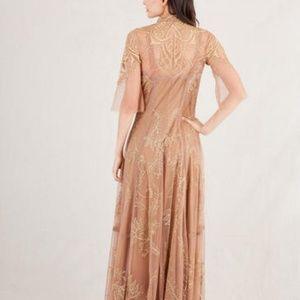 Nataya Dresses - Nataya Antitque Gold Vintage Inspired Wedding Dres